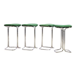 Set of 4 Counter Stools For Sale