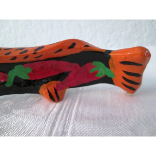 Vintage Mexican Hand Made Maraca Fish - 3 - Image 7 of 7