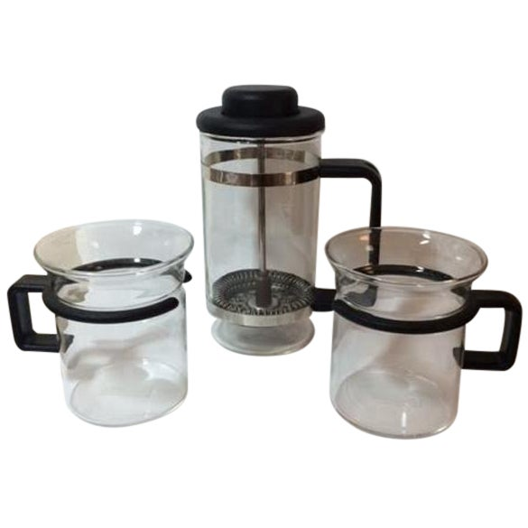 Vintage Bodum Mini French Press Set - Image 1 of 6