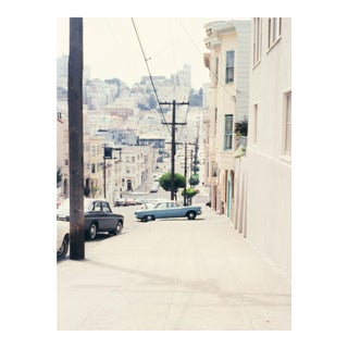 Vintage 1960s San Francisco Lombard Street Photograph Print