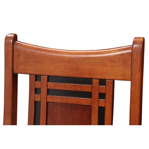Chinoiserie Style Dining Chairs, S/6 - Image 2 of 5