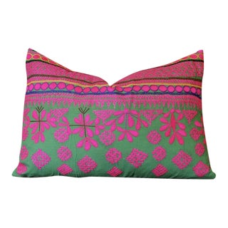 1950s Vintage Raviteja Mathuravati Lumbar Pillow For Sale