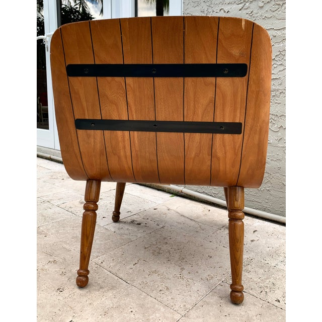 Carter Brothers Mid Century Carter Brothers 200 Scoop Chair For Sale - Image 4 of 13