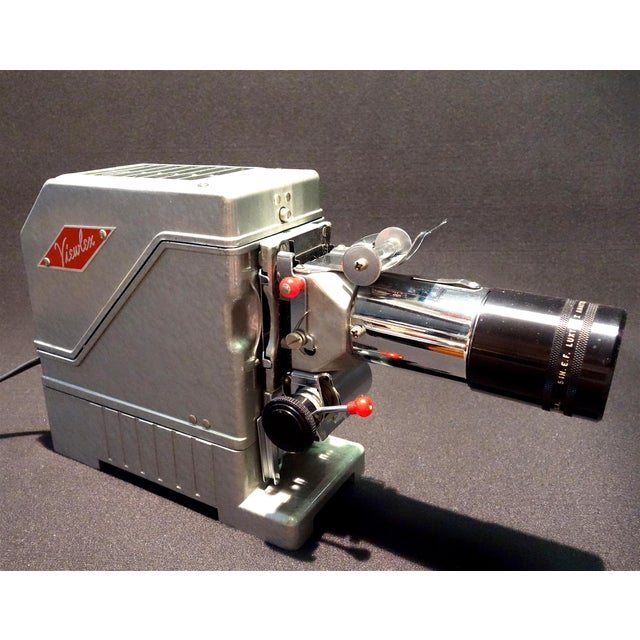 Mid 20th Century View Lex Circa 1950 Film Projector in 100% Original State For Sale - Image 5 of 12