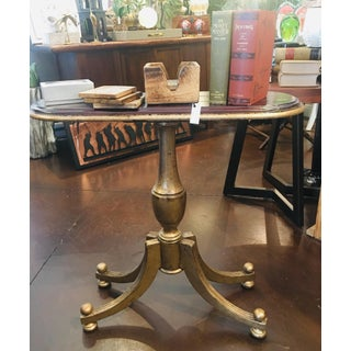Traditional Style Mahogany Accent Table Preview