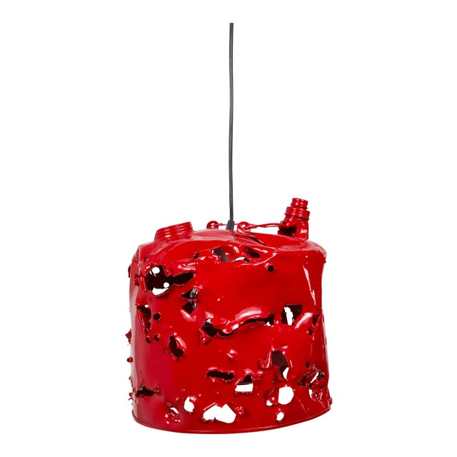 Gas Can Pendant Light by Charles Linder For Sale