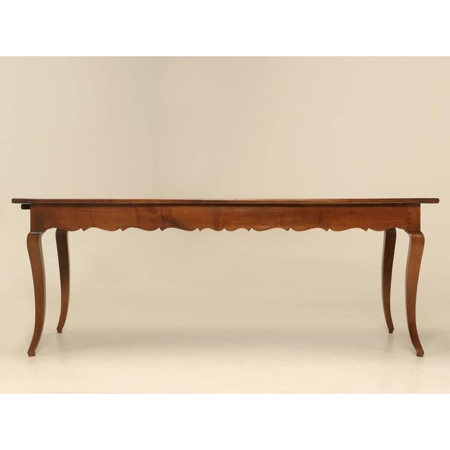 Now normally when I would look at this French dining table, I would immediately think it is 20th century, but after taking...