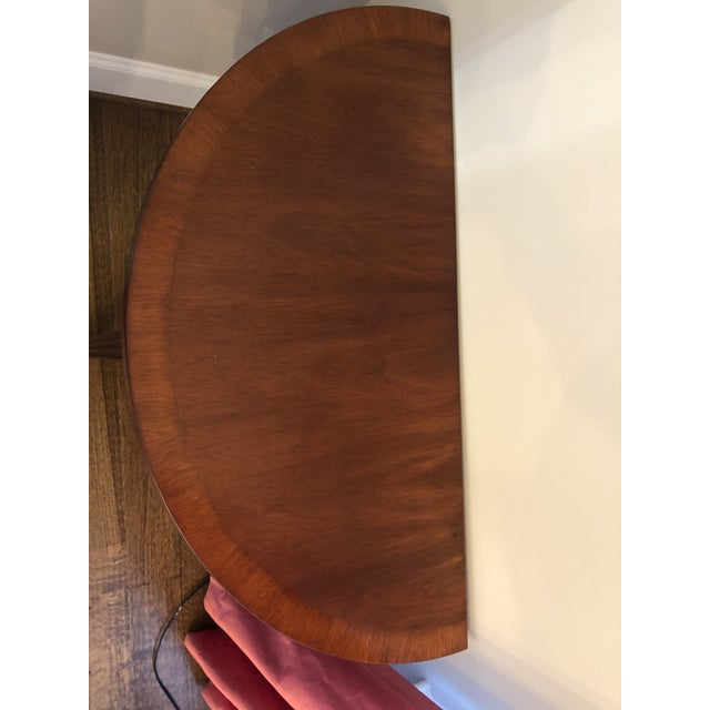 Mahogany demilune has been in formal area and very lightly used entire life.