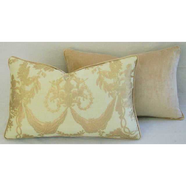 Italian Mariano Fortuny Boucher Pillows - A Pair - Image 8 of 11