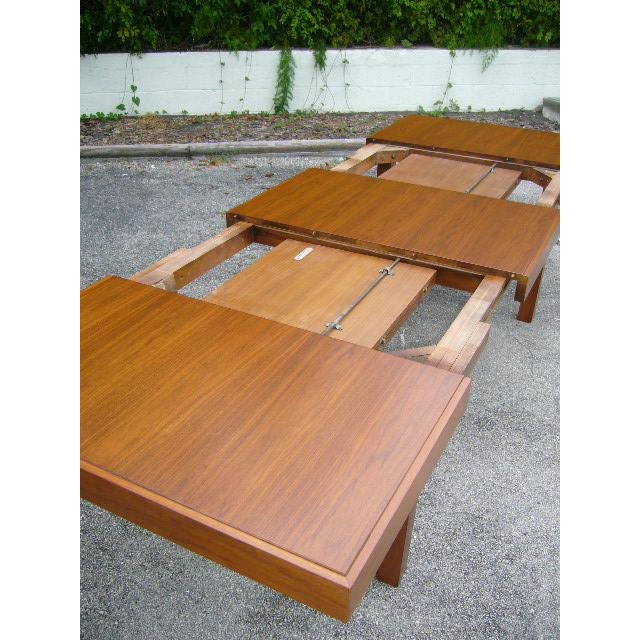 Clic Early George Nelson Walnut Dining Table Image 6 Of 11