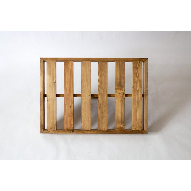 Vintage Wooden Berry Carrier For Sale In Dallas - Image 6 of 7