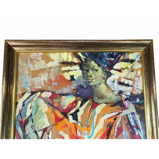 1960s African-American Woman Abstract - Image 2 of 5