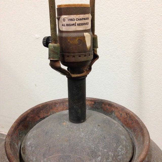 Vintage Chapman Brutalist Lamp For Sale - Image 9 of 11