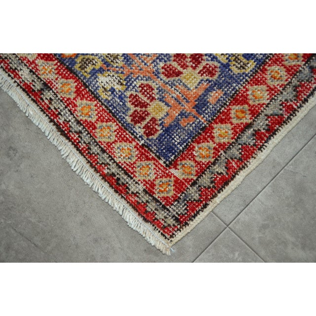 """Tan Antique Turkish Rug Lion Pattern Hand Knotted SuperLow Pile Wool Wall & Area Rug Rare Piece- 4'1"""" X 6' For Sale - Image 8 of 11"""
