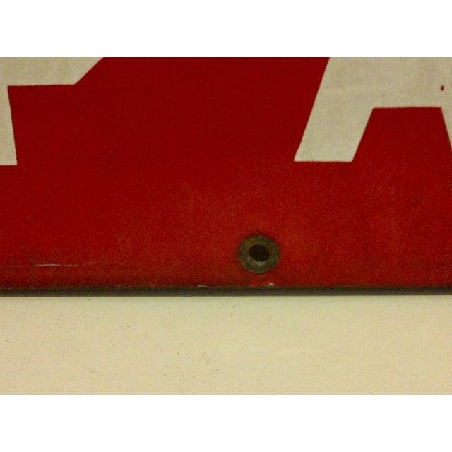 """Vintage Porcelain Sign """"Danger High Voltage Keep Away"""" - Image 5 of 6"""
