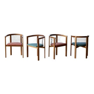 String Dining Chairs by Niels Jørgen Haugesen for Tranekaer, Denmark - Set of 4 For Sale