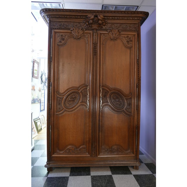 French Wedding Armoire - Image 2 of 7