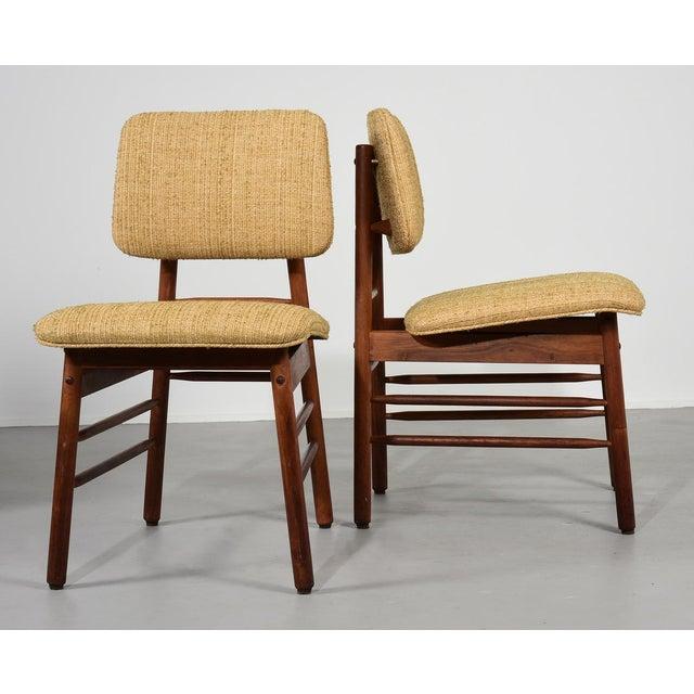 1952 Vintage Greta Grossman Model 6260 Chairs - Set of 4 For Sale - Image 9 of 10
