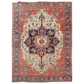 Serapi Persian Carpet - 12′1″ × 15′6″ For Sale