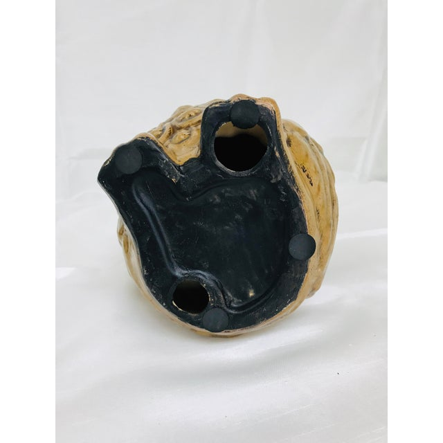 1970s Boho Chic Crackle Glaze Pottery Owl For Sale In Saint Louis - Image 6 of 7