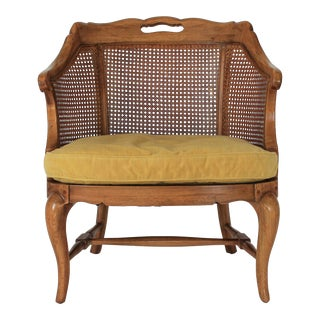 Caned Arm Chair For Sale