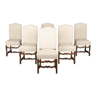 Mid 20th Century French Dining Chairs - Set of 6 For Sale