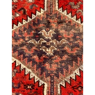 "1930's Vintage Persian Shiraz Thick & Soft Area Rug - 4'11"" x 6'6"" Preview"