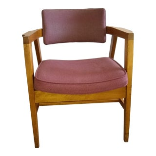 1960s Danish Gunlocke Captain's Chair
