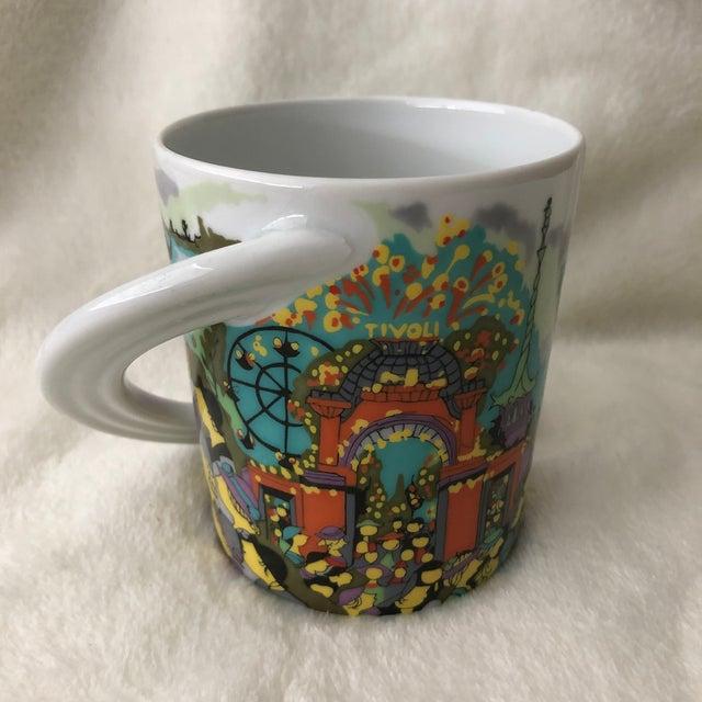 "White Vintage 1980s Rosenthal Porcelain ""Kopenhagen"" City Cup by Bjorn Wiinblad Coffee Mug For Sale - Image 8 of 8"