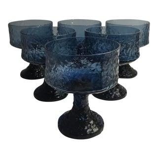 Vintage Hand Blown Lenox Crystal Glasses - Set of 6 For Sale