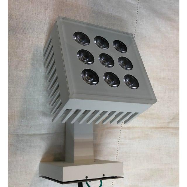 Metal Artemide Falange 9 Outdoor Light in Lunar White - Showroom Sample For Sale - Image 7 of 7