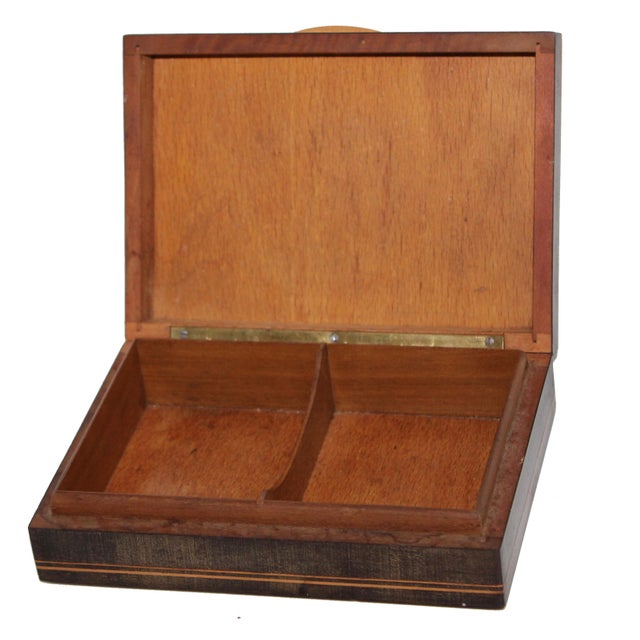 19th Century 19th Century French Inlay Wooden Box For Sale - Image 5 of 13
