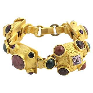 Stambouli Etruscan-Style Bracelet For Sale