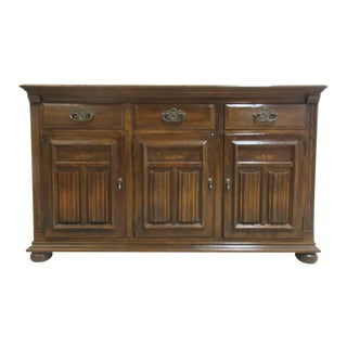 Ethan Allen Royal Charter Oak Jacobean Server