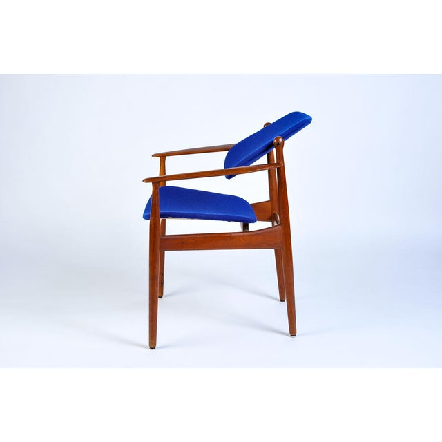 Mid-Century Modern Danish Modern Arne Vodder Arm Chair For Sale - Image 3 of 7