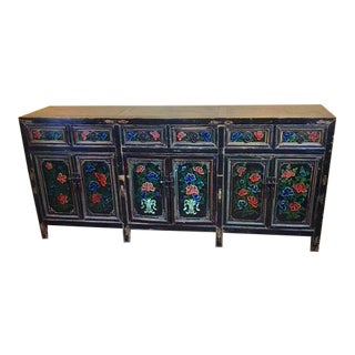 19th Century Asian Antique Aspen Sideboard For Sale