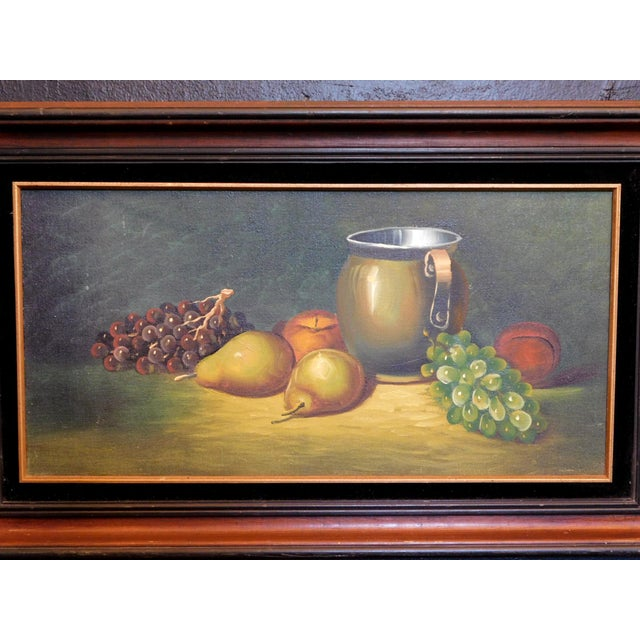Realism Fruit Still Life Oil Painting For Sale - Image 3 of 4