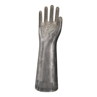 Hand Mould in Aluminium Casting by Richard Ginori, 1950. Medium Sized. For Sale