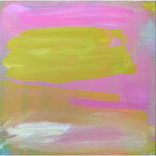 """""""Cloud Nine"""" by Trixie Pitts Small Abstract Expressionist Oil Painting For Sale"""