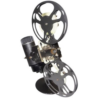 Rare First Model 16MM Cinema Movie Projector Circa 1923. Display As Sculpture.