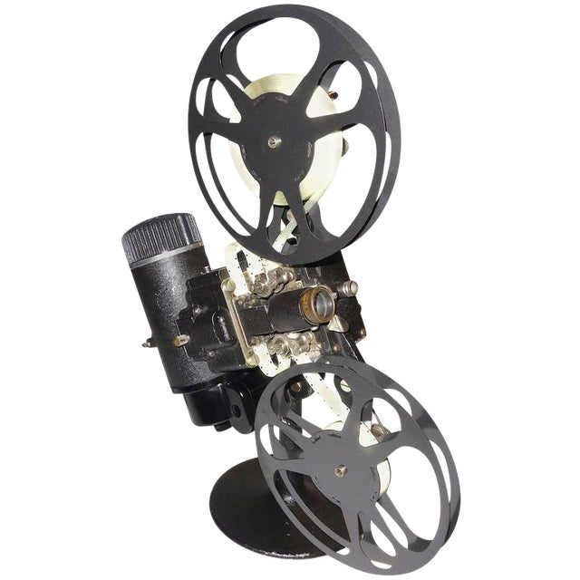 Rare First Model 16MM Cinema Movie Projector Circa 1923. Display As Sculpture. For Sale