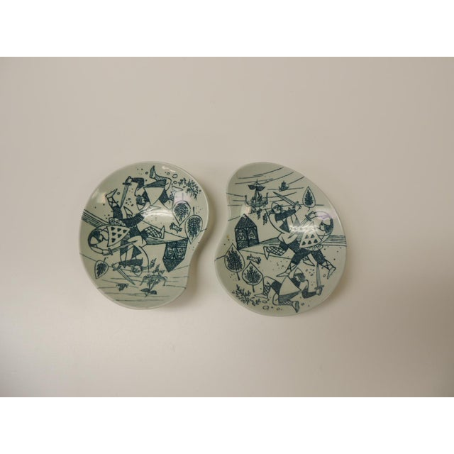1980s Vintage Small Candy/Peanut Porcelain Dishes For Sale - Image 5 of 5