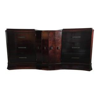 20th Century Traditional Williamsport Furniture Triple Dresser For Sale