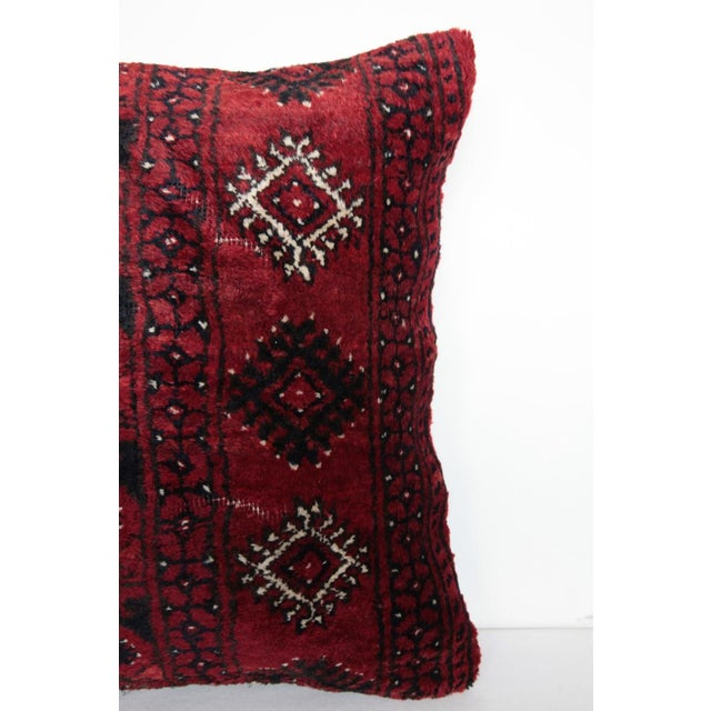 Turkish Decorative Rug Pillow Cover For Sale - Image 4 of 8