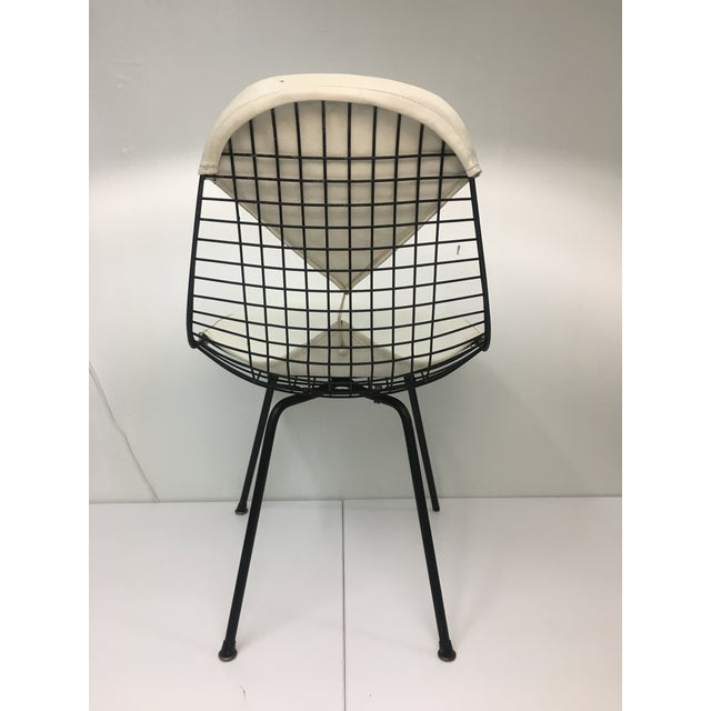 Vintage White on Black D K R Bikini Chair by Charles Eames for Herman Miller For Sale In New York - Image 6 of 13