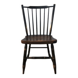 Early 20th Century Antique Hitchcock Stick Back Windsor Chair For Sale