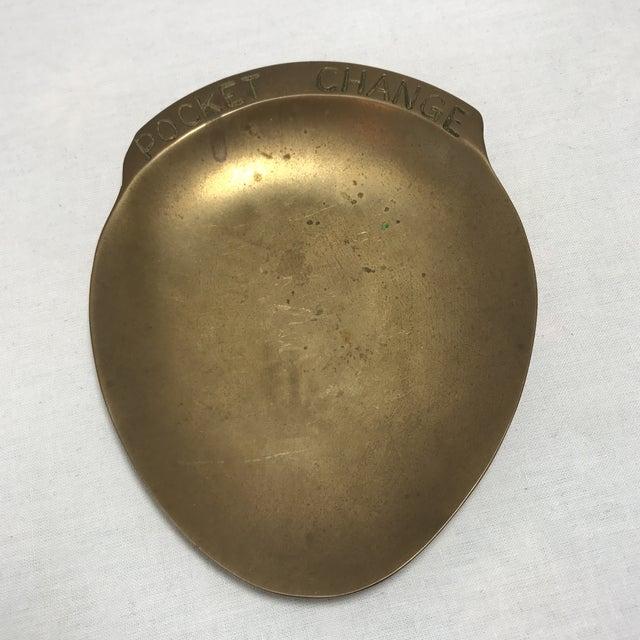 Vintage Brass Pocket Change Dish - Image 9 of 9