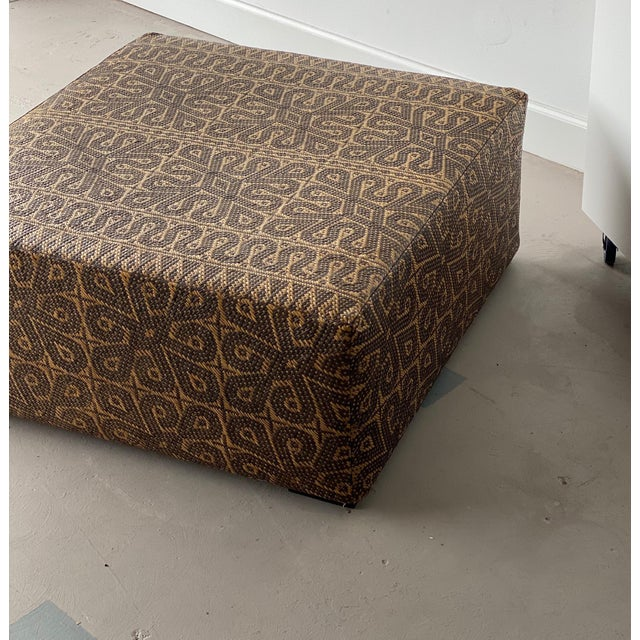 Boho Chic Boho Chic Borneo Mat Coffee Table For Sale - Image 3 of 9