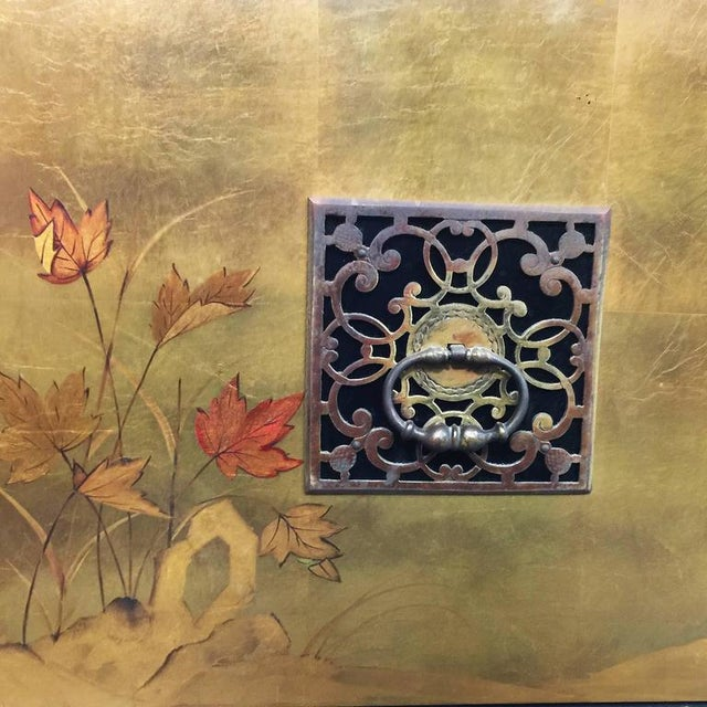 James Mont Style Asian Inspired Console Cabinet - Image 4 of 4