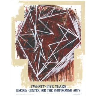 Mel Bochner Twenty-Five Years 1984 Serigraph
